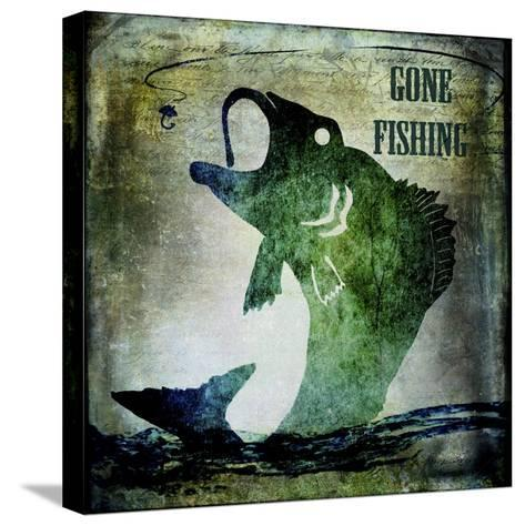 Gone Fishing-LightBoxJournal-Stretched Canvas Print