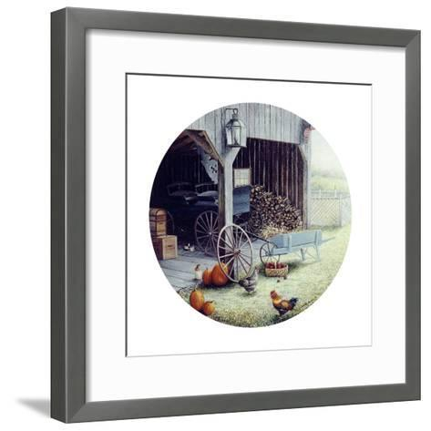 Our Cup Runnith Over-Kevin Dodds-Framed Art Print