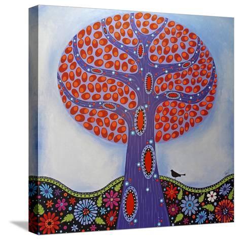 Under the Apple Tree-Lynn Hughes-Stretched Canvas Print