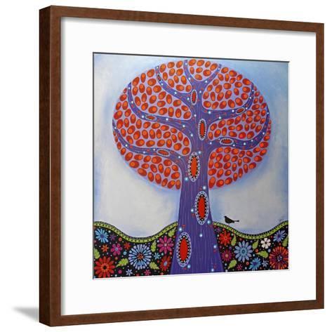 Under the Apple Tree-Lynn Hughes-Framed Art Print