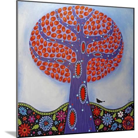 Under the Apple Tree-Lynn Hughes-Mounted Giclee Print