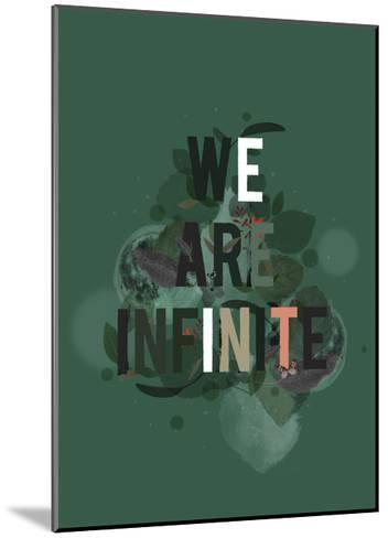 The Infinite-Kavan & Company-Mounted Giclee Print