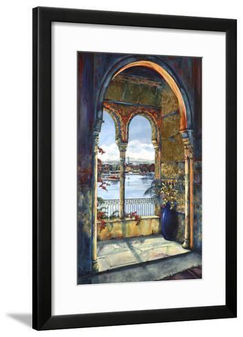 View from the Alhambra-Karen Stene-Framed Art Print