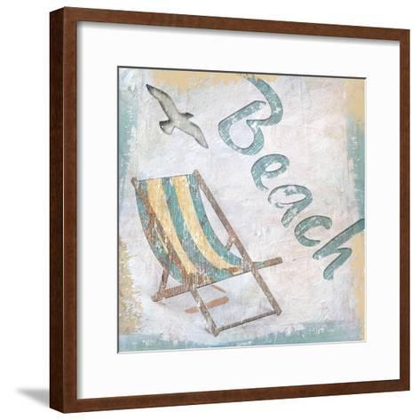 Beach 2-Karen Williams-Framed Art Print