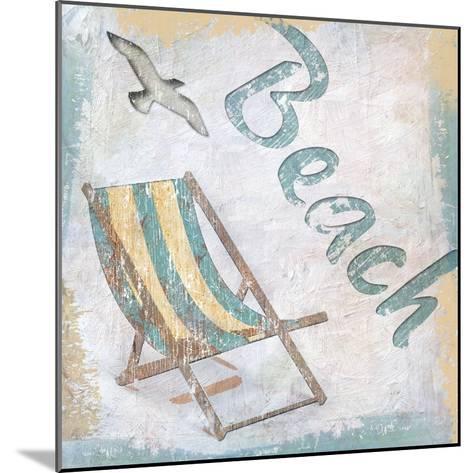 Beach 2-Karen Williams-Mounted Giclee Print