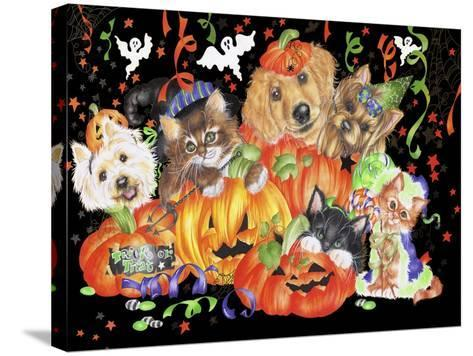 Boo-Karen Middleton-Stretched Canvas Print