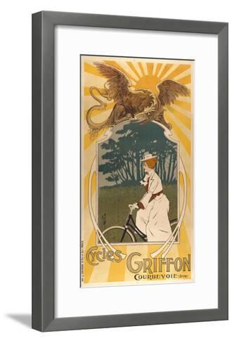 Cycles Griffon-Marcus Jules-Framed Art Print