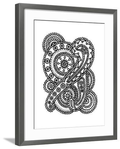 Paisley Collage-Laura Miller-Framed Art Print