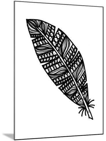 Tribal Feather-Laura Miller-Mounted Giclee Print