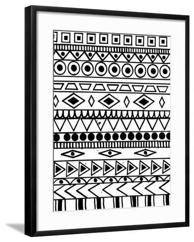 Tribal Celebration-Laura Miller-Framed Art Print