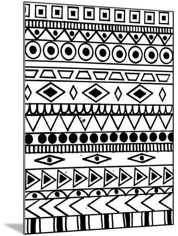 Tribal Celebration-Laura Miller-Mounted Giclee Print