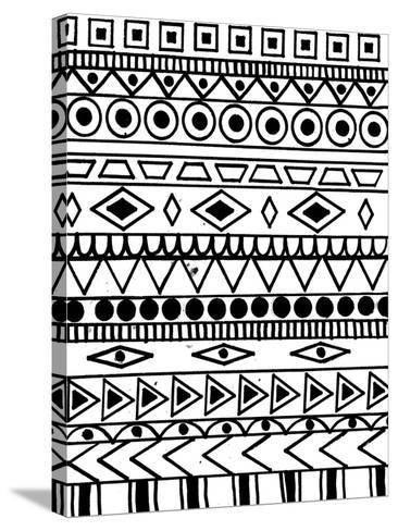 Tribal Celebration-Laura Miller-Stretched Canvas Print