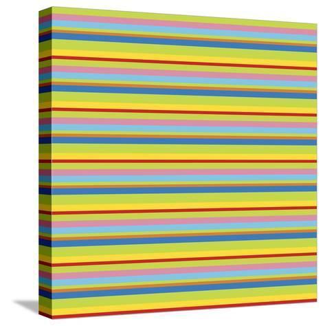 Summer Fun Green-Julie Goonan-Stretched Canvas Print