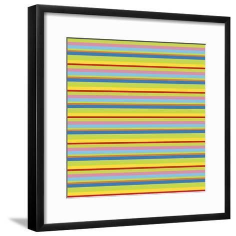 Summer Fun Green-Julie Goonan-Framed Art Print