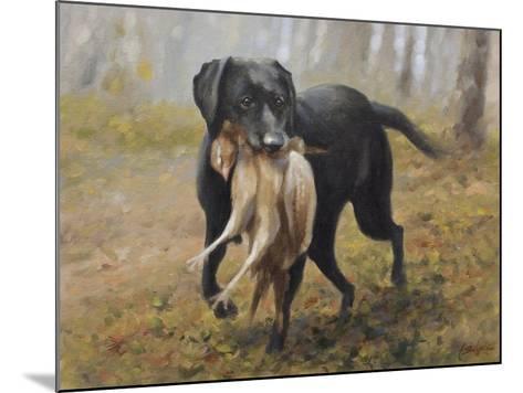 Labrador-John Silver-Mounted Giclee Print