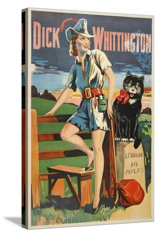 Dick Whittington-Marcus Jules-Stretched Canvas Print