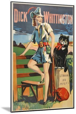 Dick Whittington-Marcus Jules-Mounted Giclee Print