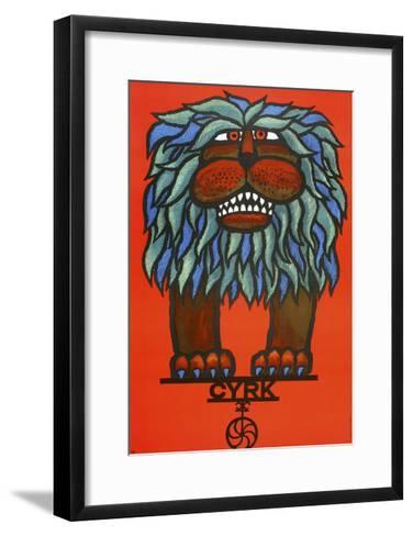 Cyrk-Marcus Jules-Framed Art Print