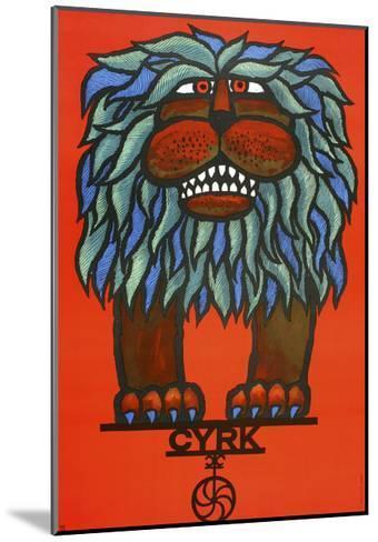 Cyrk-Marcus Jules-Mounted Giclee Print