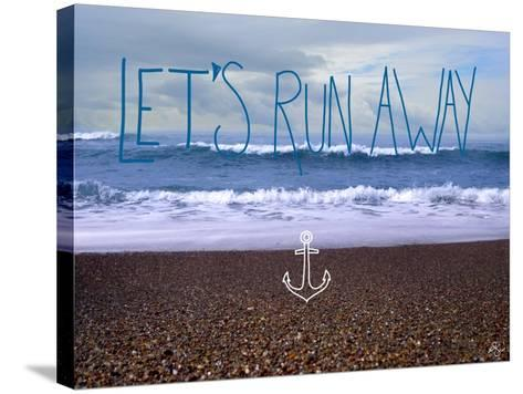 Let?s Run Away 2-Kimberly Glover-Stretched Canvas Print