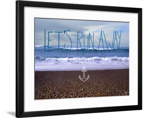 Let?s Run Away 2-Kimberly Glover-Framed Art Print