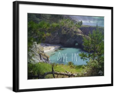 Dive In-Kimberly Glover-Framed Art Print