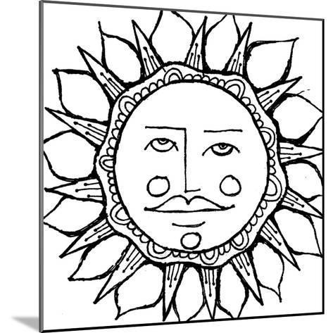 Sun Guy-Laura Miller-Mounted Giclee Print