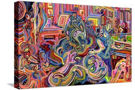 Modern Diplomacy-Josh Byer-Stretched Canvas Print