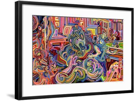 Modern Diplomacy-Josh Byer-Framed Art Print