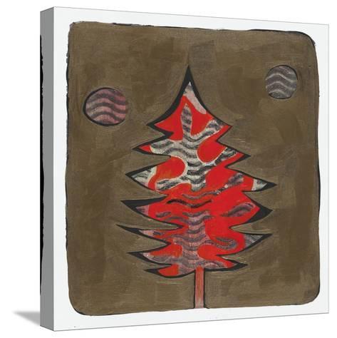 Xmas Tree 6-Maria Pietri Lalor-Stretched Canvas Print