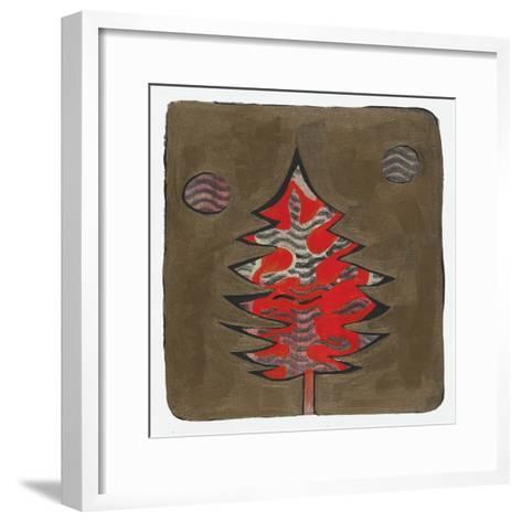 Xmas Tree 6-Maria Pietri Lalor-Framed Art Print