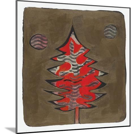Xmas Tree 6-Maria Pietri Lalor-Mounted Giclee Print