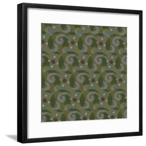 Tribal Swirl II-Julie Goonan-Framed Art Print