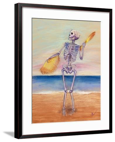 Skelly Dancer No. 10-Marie Marfia-Framed Art Print