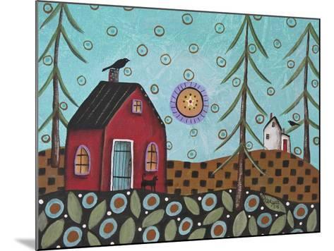 Aqua Door 1-Karla Gerard-Mounted Giclee Print
