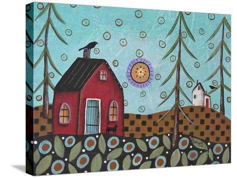 Aqua Door 1-Karla Gerard-Stretched Canvas Print