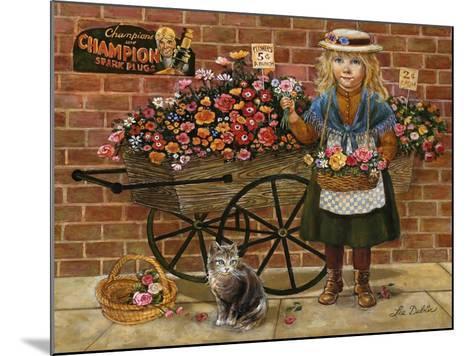 Liza Flower Girl-Lee Dubin-Mounted Giclee Print