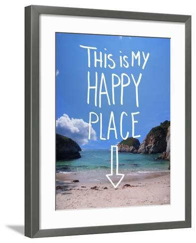 This Is My Happy Place-Kimberly Glover-Framed Art Print