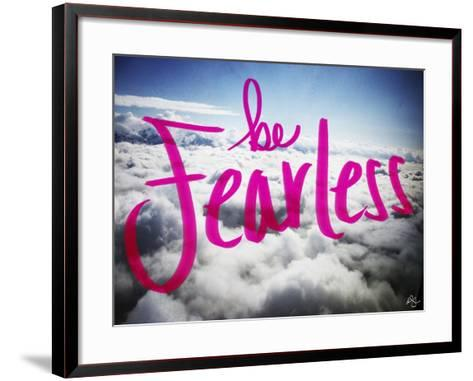 Be Fearless-Kimberly Glover-Framed Art Print