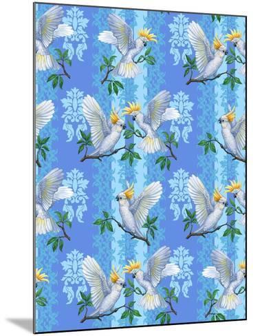 Cockatoos (Pattern)-Maria Rytova-Mounted Giclee Print