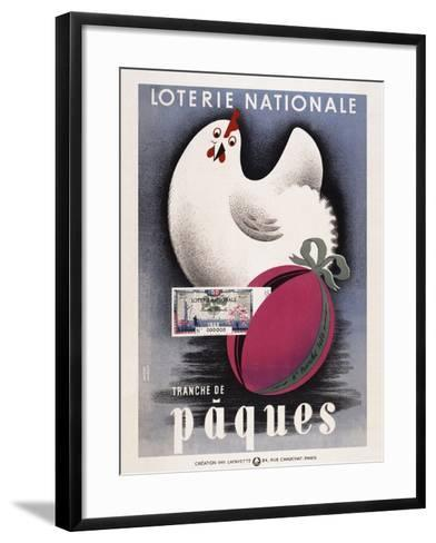 Loterie Nationale - Paques-Marcus Jules-Framed Art Print