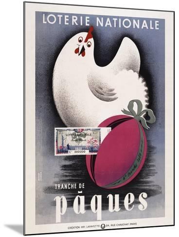 Loterie Nationale - Paques-Marcus Jules-Mounted Giclee Print