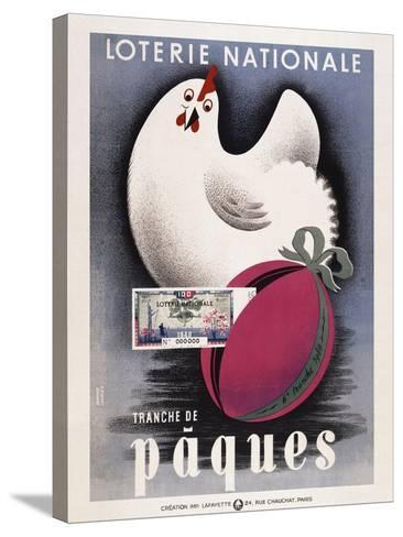 Loterie Nationale - Paques-Marcus Jules-Stretched Canvas Print