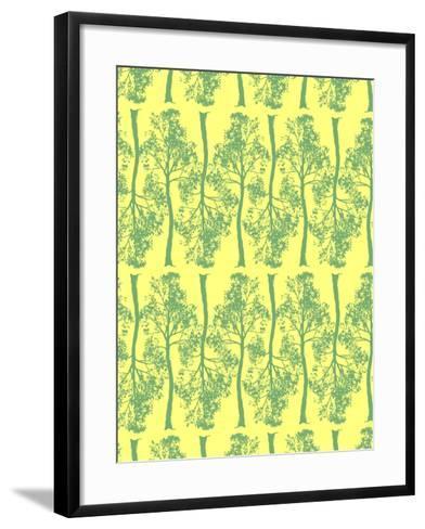 Tree Contrast-Josefina Baumann-Framed Art Print