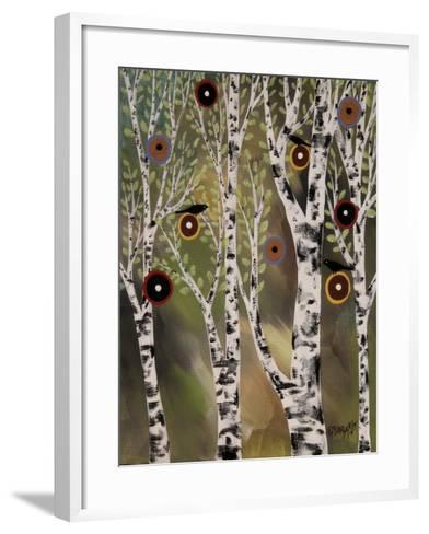 Birches 1-Karla Gerard-Framed Art Print