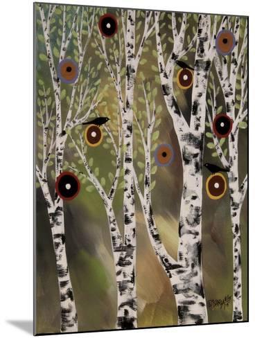 Birches 1-Karla Gerard-Mounted Giclee Print