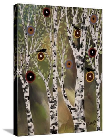 Birches 1-Karla Gerard-Stretched Canvas Print