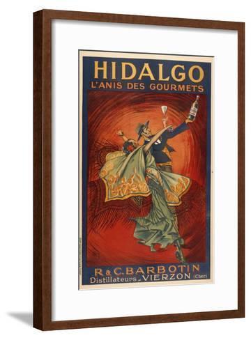 Hildago-Dancers-Marcus Jules-Framed Art Print