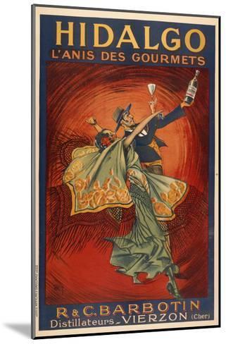 Hildago-Dancers-Marcus Jules-Mounted Giclee Print