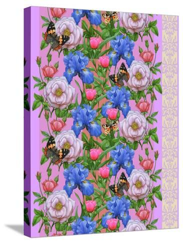 Blooming Meadow-Maria Rytova-Stretched Canvas Print